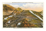 Switchbacks up Pike&#39;s Peak, Colorado Posters