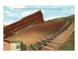Red Rocks Theatre, Denver, Colorado Print