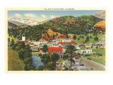 Village of Estes Park, Colorado Kunstdruck