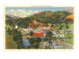 Village of Estes Park, Colorado Poster