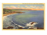 Coves, Laguna Beach, California Poster
