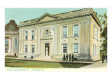 Woodbridge Hall, Yale, New Haven, Connecticut Print