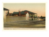 Sherman & Halleck's Quarters, Monterey, California Print