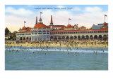 Casino and Beach, Santa Cruz, California Posters