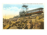 Cog Wheel Train, Pike's Peak, Colorado Print