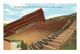 Red Rocks Theatre, Denver, Colorado Posters