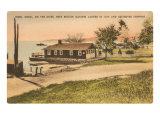 1814 Landing Point, Essex, Connecticut Poster