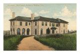 Mark Twain Residence, Redding, CT Art Print