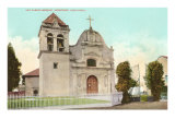 San Carlos Mission, Monterey, California Print