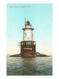 Lighthouse, Stamford, Connecticut Print
