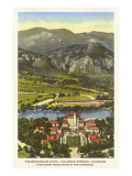 Hôtel Broadmoor, Colorado Springs, Colorado Poster