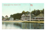 Stamford Yacht Club, Stamford, Connecticut Poster