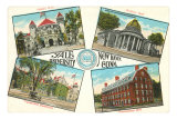 Views of Yale, New Haven, Connecticut Posters