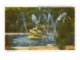 Wynken Blynken and Nod Fountain, Denver, Colorado Print