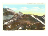 Switchbacks on Pike's Peak, Colorado Posters