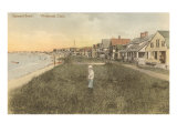 Stannard Beach, Westbrook, Connecticut Print