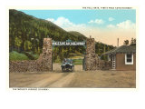 Toll Gate, Pike's Peak Highway, Colorado Print