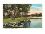 Kenosia Lake, Danbury, Connecticut Poster