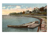 Cove Pond, Stamford, Connecticut Posters