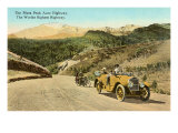 Pikes Peak Highway, Colorado Poster