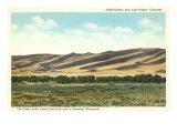 Sand Dunes, San Luis Valley, Colorado Print