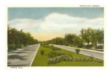 Seventh Avenue Parkway, Denver, Colorado Poster