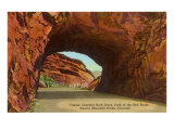 Tunnel, Red Rocks Park, Denver, Colorado Print