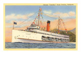 Steamer Catalina Poster