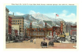 Pike's Peak, Colorado Springs, Colorado Prints