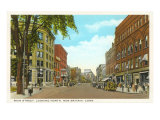 Main Street, New Britain, Connecticut Poster