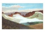 Hallett's Glacier, Estes Park, Colorado Poster