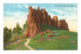 Red Rocks, Boulder, Colorado Posters