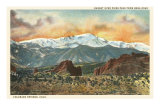 Sunset over Pike&#39;s Peak, Colorado Posters