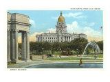 State Capitol, Denver, Colorado Poster