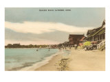 Chalker Beach, Saybrook, Connecticut Print
