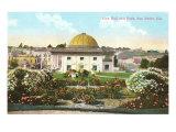 City Hall and Park, San Pedro, California Print