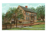 Old Hempstead House, New London, Connecticut Poster