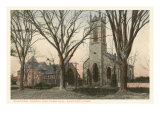 Episcopal Church, Guilford, Connecticut Print