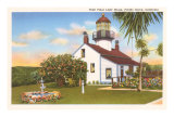 Point Pinos Lighthouse, Pacific Grove, California Posters