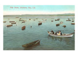 Fishing Boats, Monterey Bay, California Posters