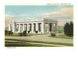 Memorial Pavilion, Denver, Colorado Poster