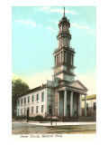 Center Church, Hartford, Connecticut Print