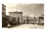 Pike's Peak Avenue, Colorado Springs, Colorado Posters