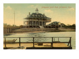 Yacht Club, Bridgeport, Connecticut Poster