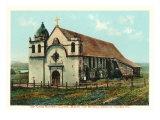 San Carlos Mission, Carmel, California Posters