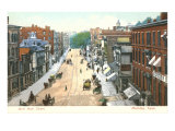 West Main Street, Meriden,  Connecticut Poster