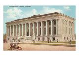 Library, Denver, Colorado Print