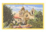 San Carlos Mission, Carmel, California Poster