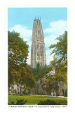 Harkness Tower, Yale, New Haven, Connecticut Posters