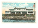 Indian Harbor Yacht Club, Greenwich, Connecticut Print